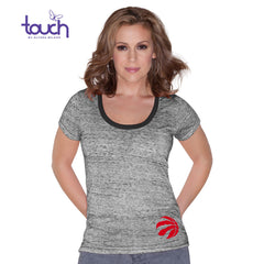 Toronto Raptors Touch Ladies Game Time Short Sleeve Shirt