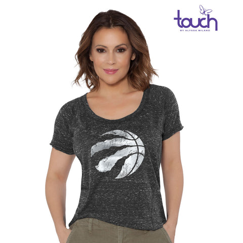 Toronto Raptors Touch Ladies Outfielder S/S Shirt