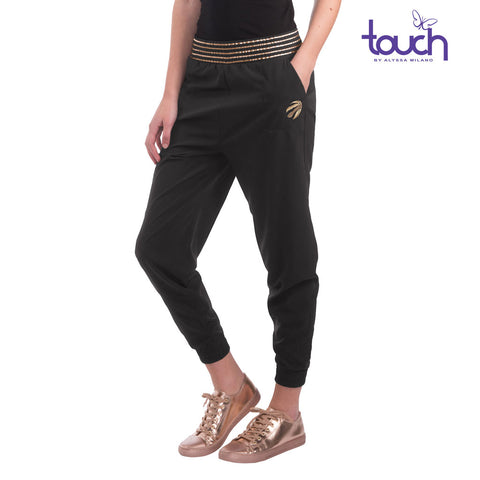 Raptors Touch Ladies Hail Mary Crop Pant