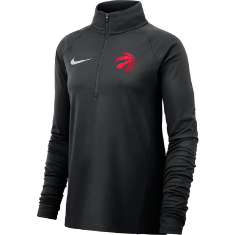 Raptors Nike Ladies Element 1/2 Zip