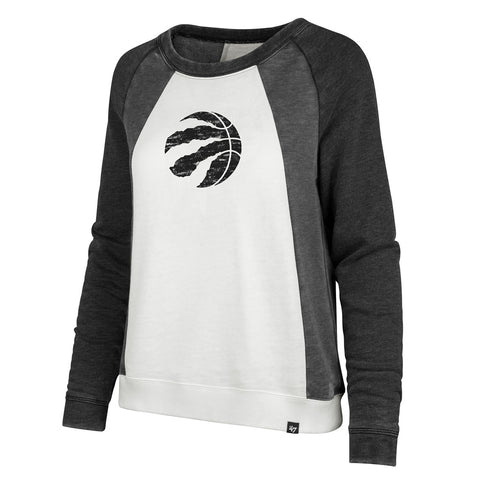 Raptors 47 Brand Ladies Fade Out Block Crew Sweater