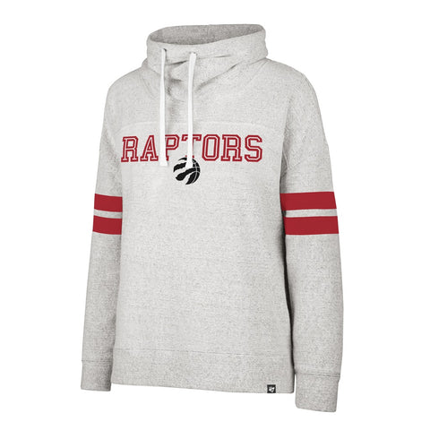 Raptors 47 Brand Ladies Offside Funnelneck Sweater