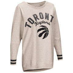 Raptors Touch Ladies Back Field Crew Sweater