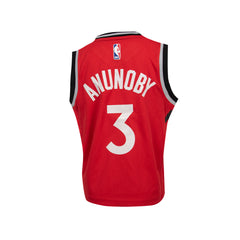 Raptors Nike Kids Icon Replica Jersey - ANUNOBY