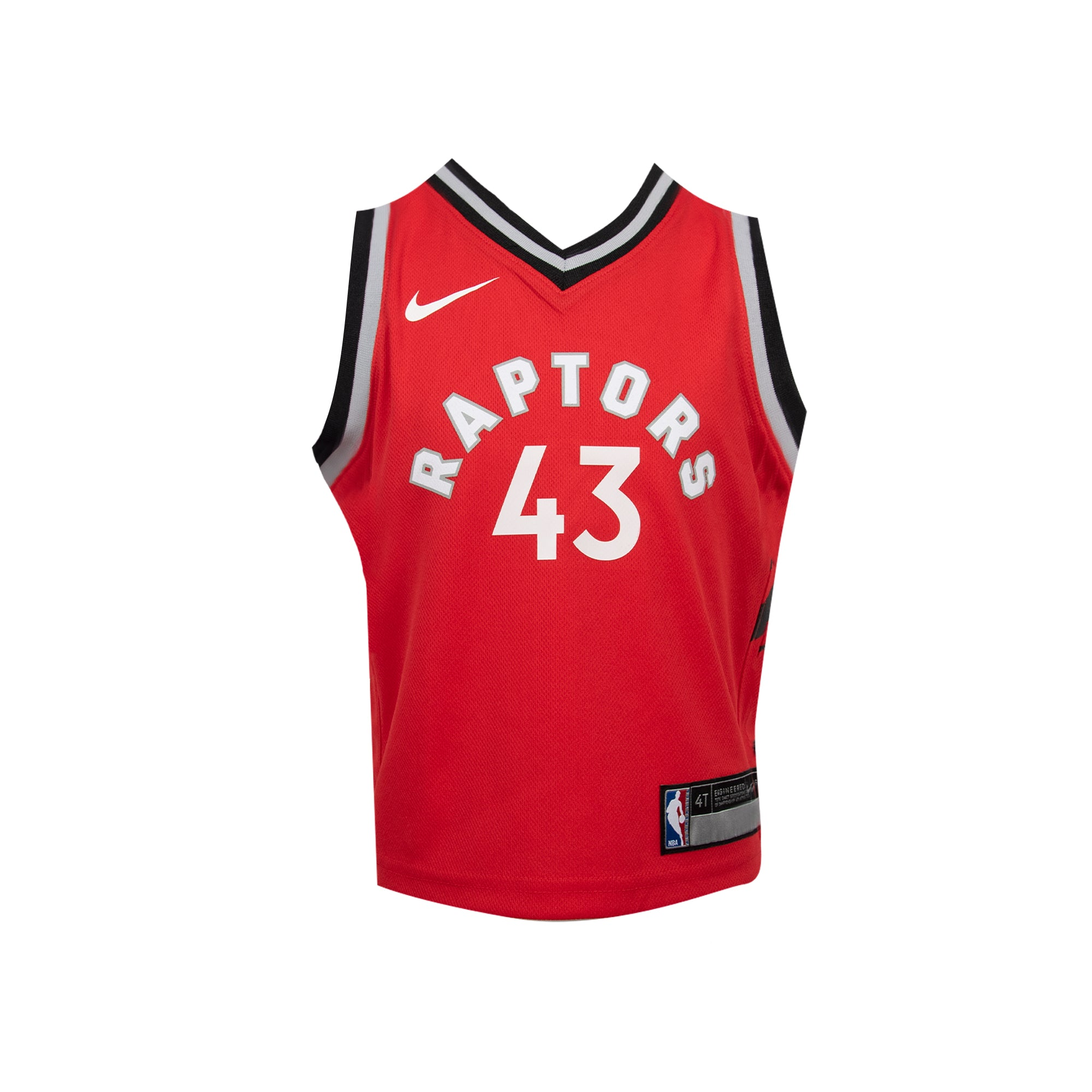 Raptors Nike Kids Icon Replica Jersey - SIAKAM