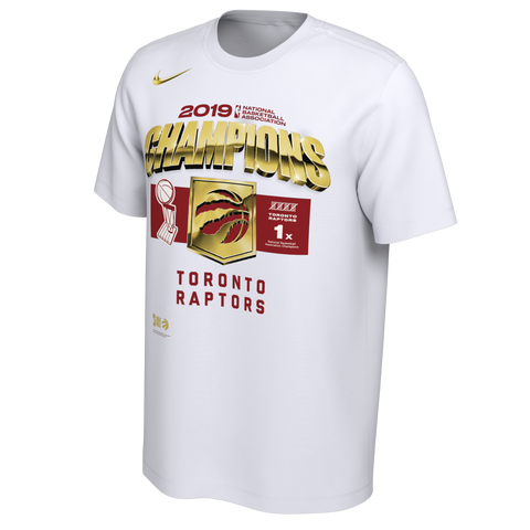 Raptors Nike Youth 2019 NBA Champs Locker Room Tee