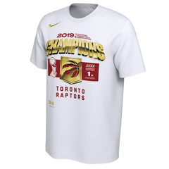 Raptors Nike Men's 2019 NBA Champs Locker Room Tee
