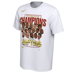 Raptors Nike Men's 2019 NBA Champs Roster Tee