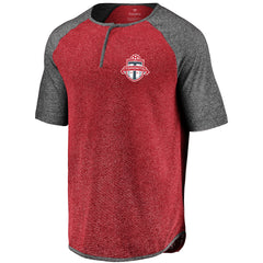 Toronto FC Fanatics Men's Iconic Keeping Count Henley Tee
