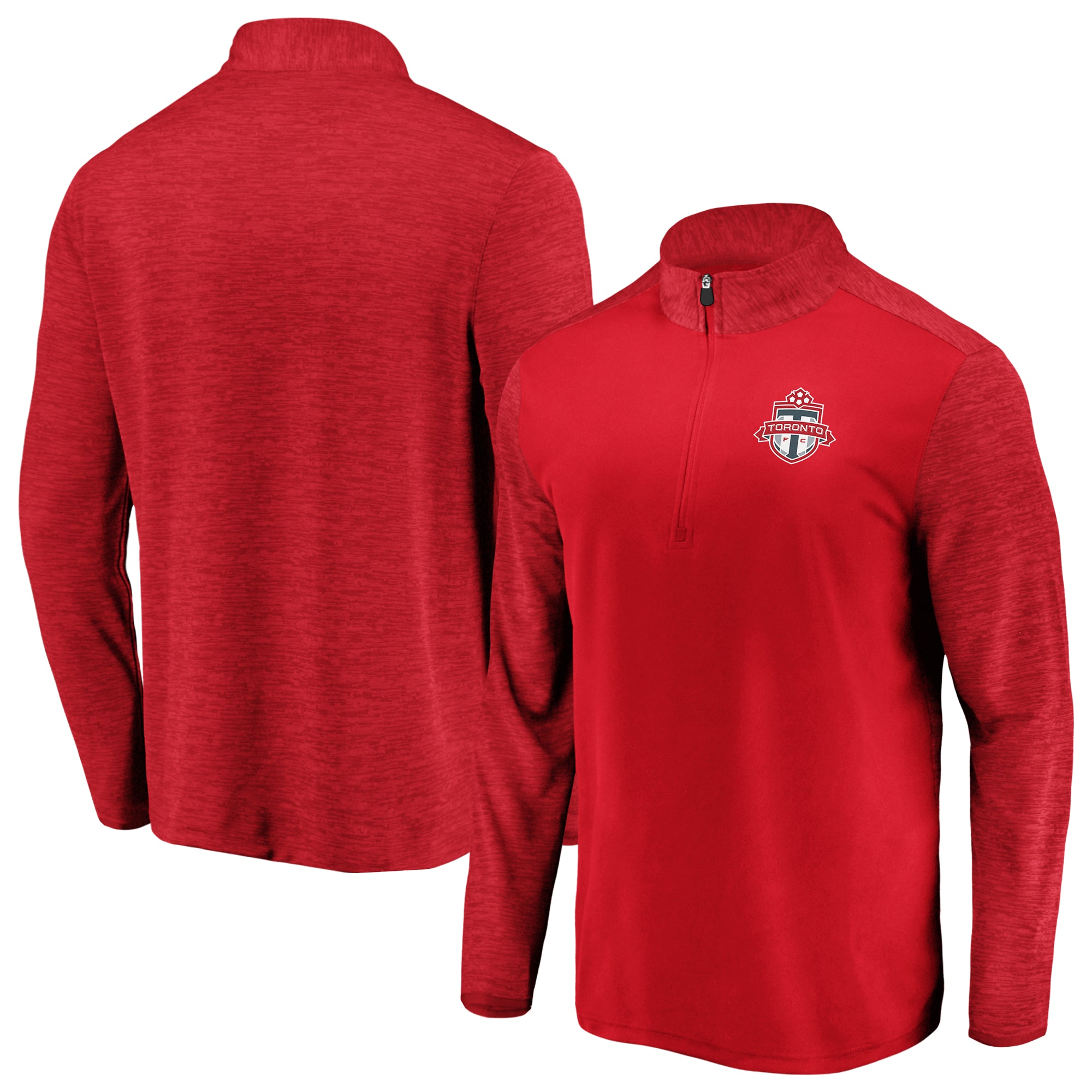 Toronto FC Fanatics Men's Iconic Practice Makes Perfect 1/4 Zip