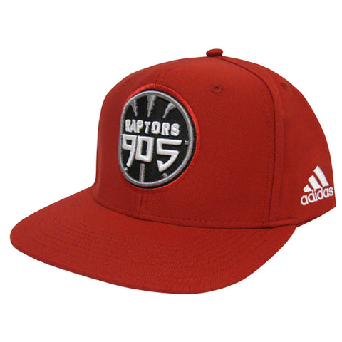 Toronto Raptors 905 D-League Adidas Men's Snapback - Red