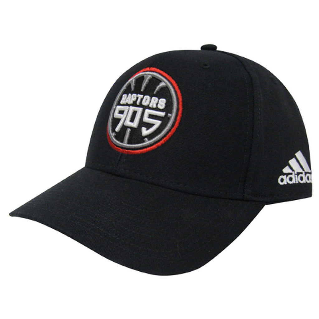Toronto Raptors 905 D-League Adidas Men's Structured Adjustable Hat - Black - shop.realsports