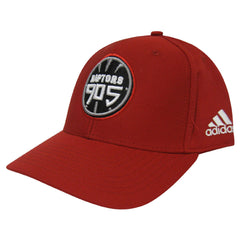 Toronto Raptors 905 D-League Adidas Men's Structured Adjustable Hat - Red - shop.realsports