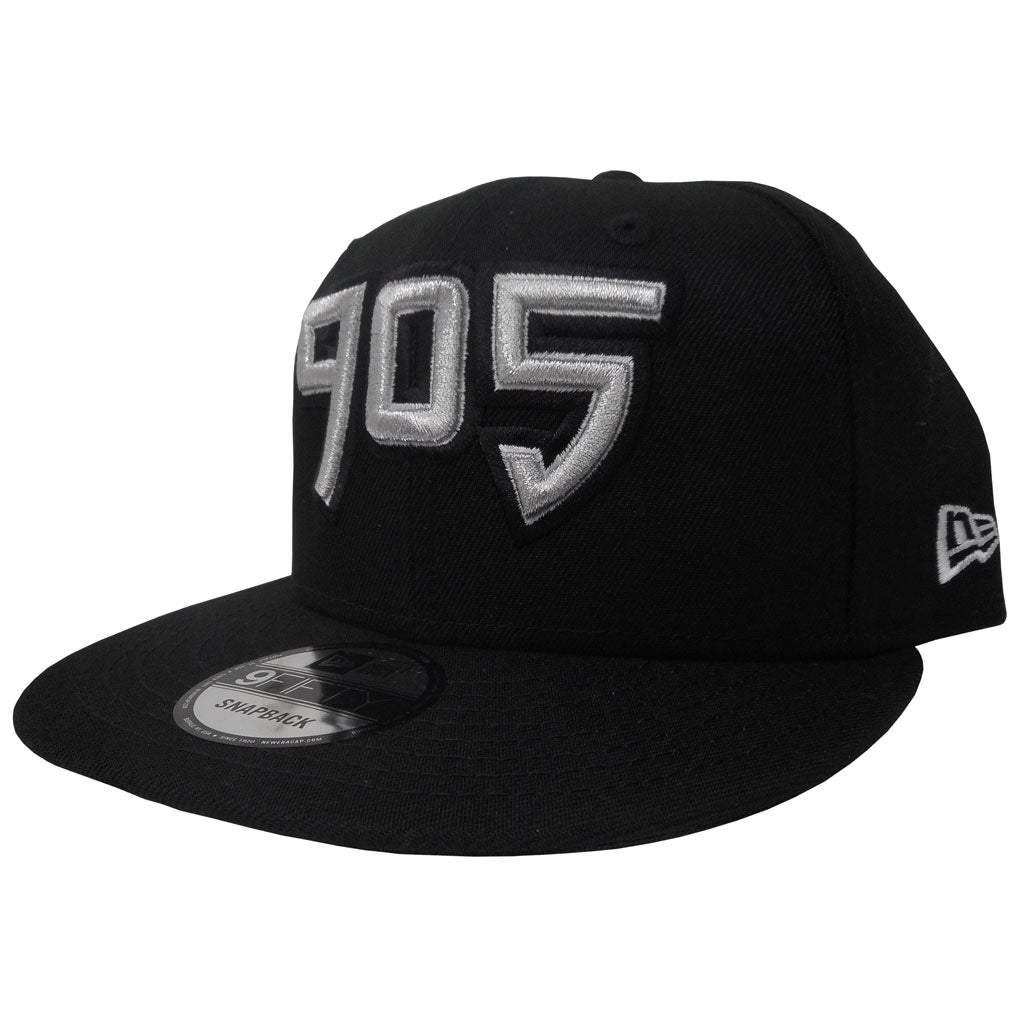 Raptors 905 Men's Basic 950 Snapback Hat- Black