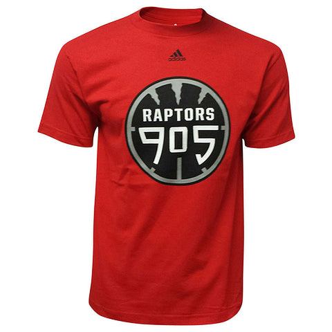 Toronto Raptors 905 D-League Adidas Men's Tee - Red