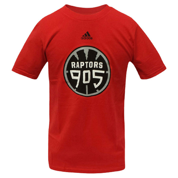 Toronto Raptors 905 D-League Adidas Youth Tee - Red - shop.realsports