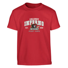 Calgary Inferno Youth Tee