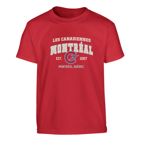 Montreal Les Canadiennes Men's S/S Tee