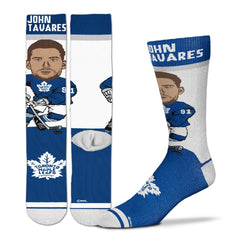 Maple Leafs For Bare Feet Tavares Player Socks