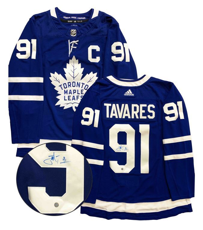 John Tavares Signed Adidas Toronto Maple Leafs Home Jersey