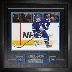 "Mitch Marner Signed 11""x 14"" Maple Leafs Photo Framed"
