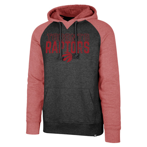 Raptors 47 Brand Men's Match Raglan Hoody