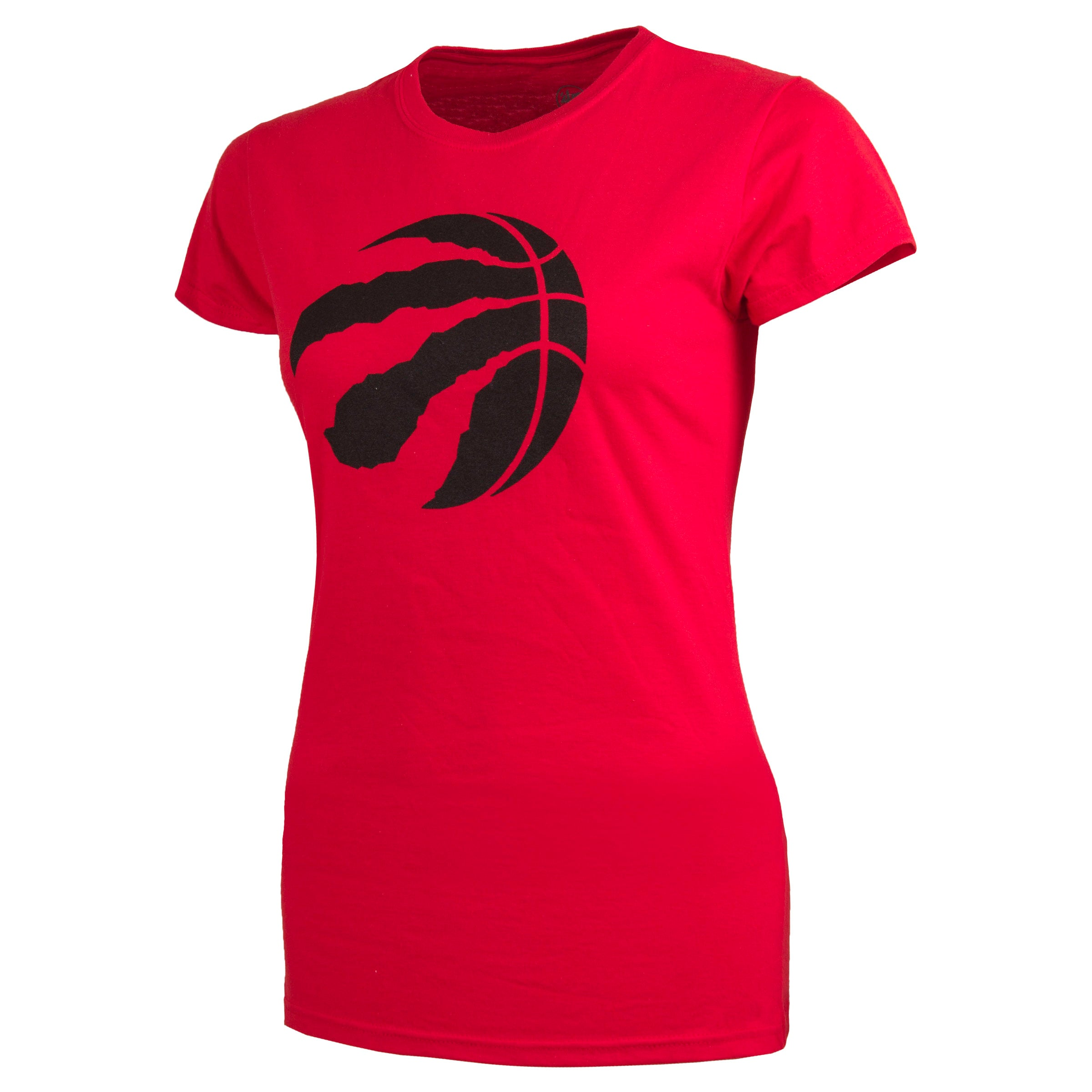 Raptors 47 Brand Ladies Logo Tee - Red
