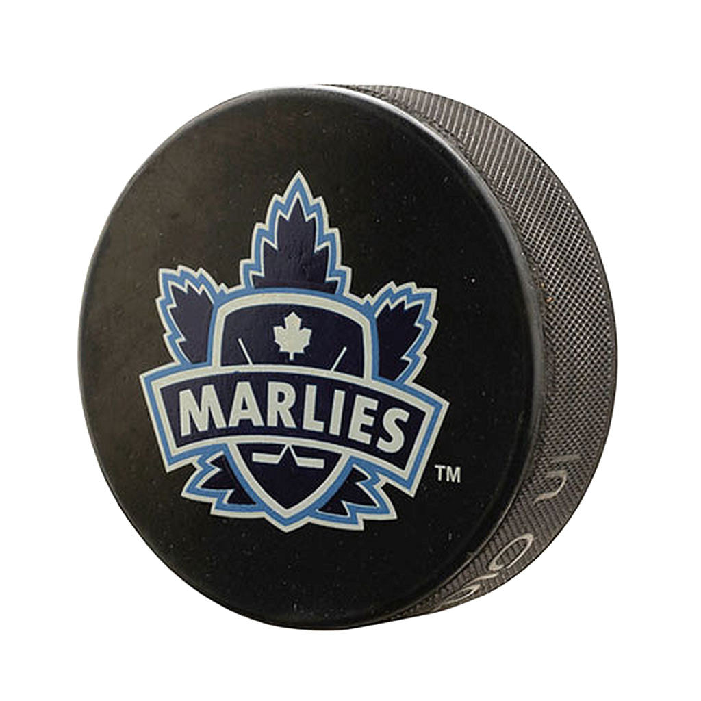 Toronto Marlies Basic Team Logo Souvenir Puck - shop.realsports