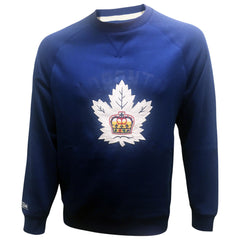 Toronto Marlies Reebok Men's CCM Fleece Crew Sweater - shop.realsports