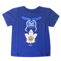 Toronto Marlies Child Mock Lace-Up Short Sleeve Tee