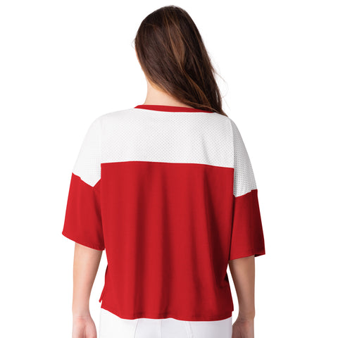 Raptors GIII Ladies All World Mesh Tee