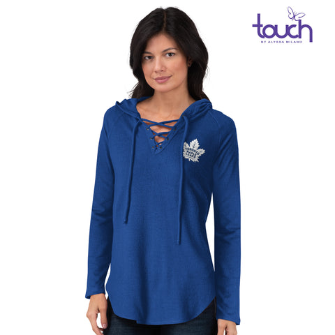 Maple Leafs Touch Ladies Soaring Puck Hoody