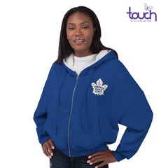 Leafs Touch Ladies Huddle Up Full Zip Hoody