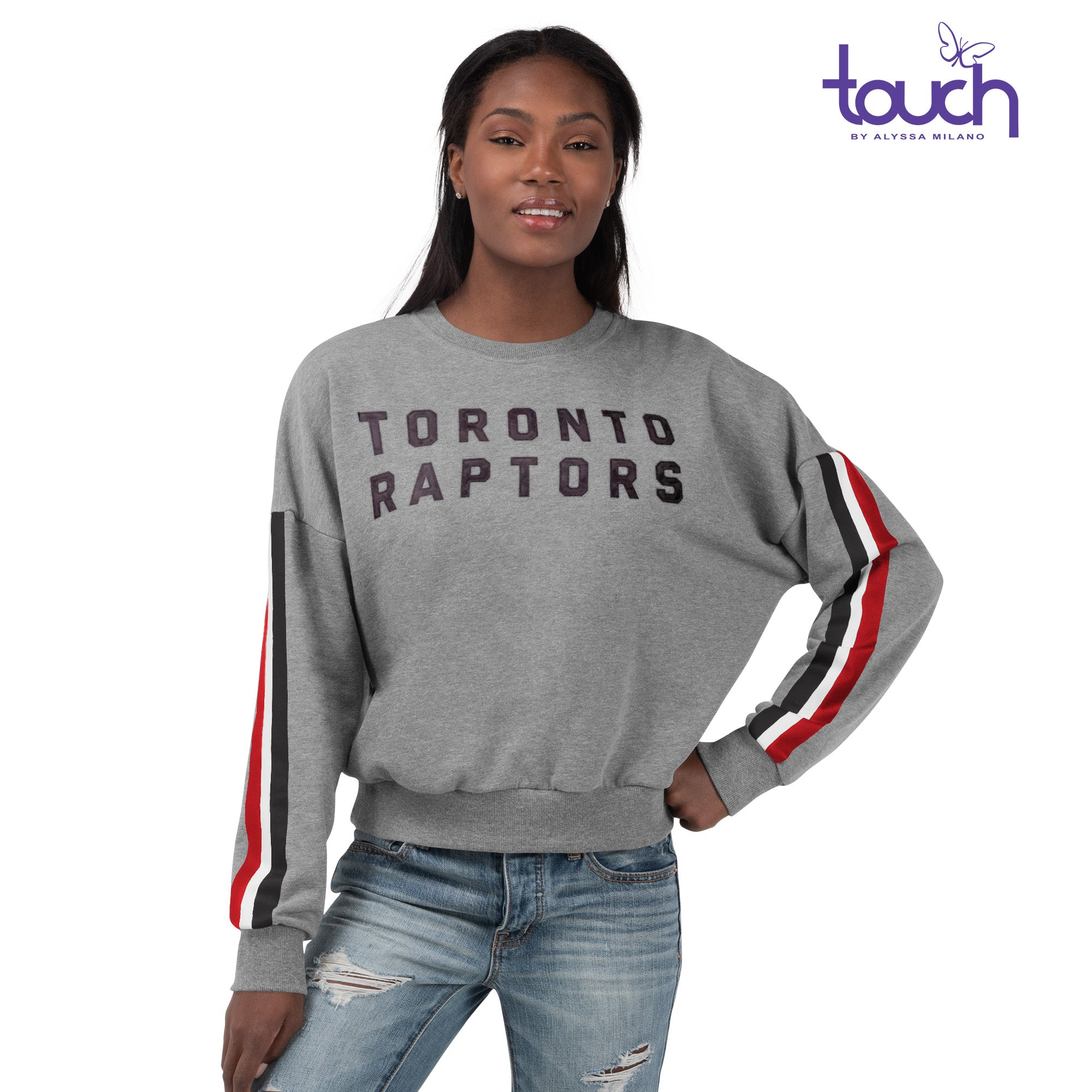 Raptors Touch Ladies Freshman Crew Sweater