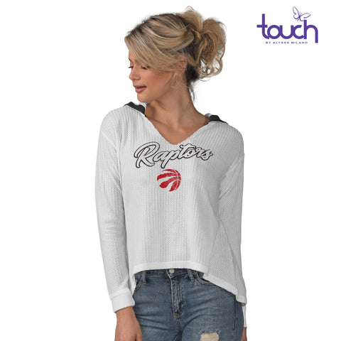 Raptors Touch Ladies Beach Bums Summer Sun Hoody