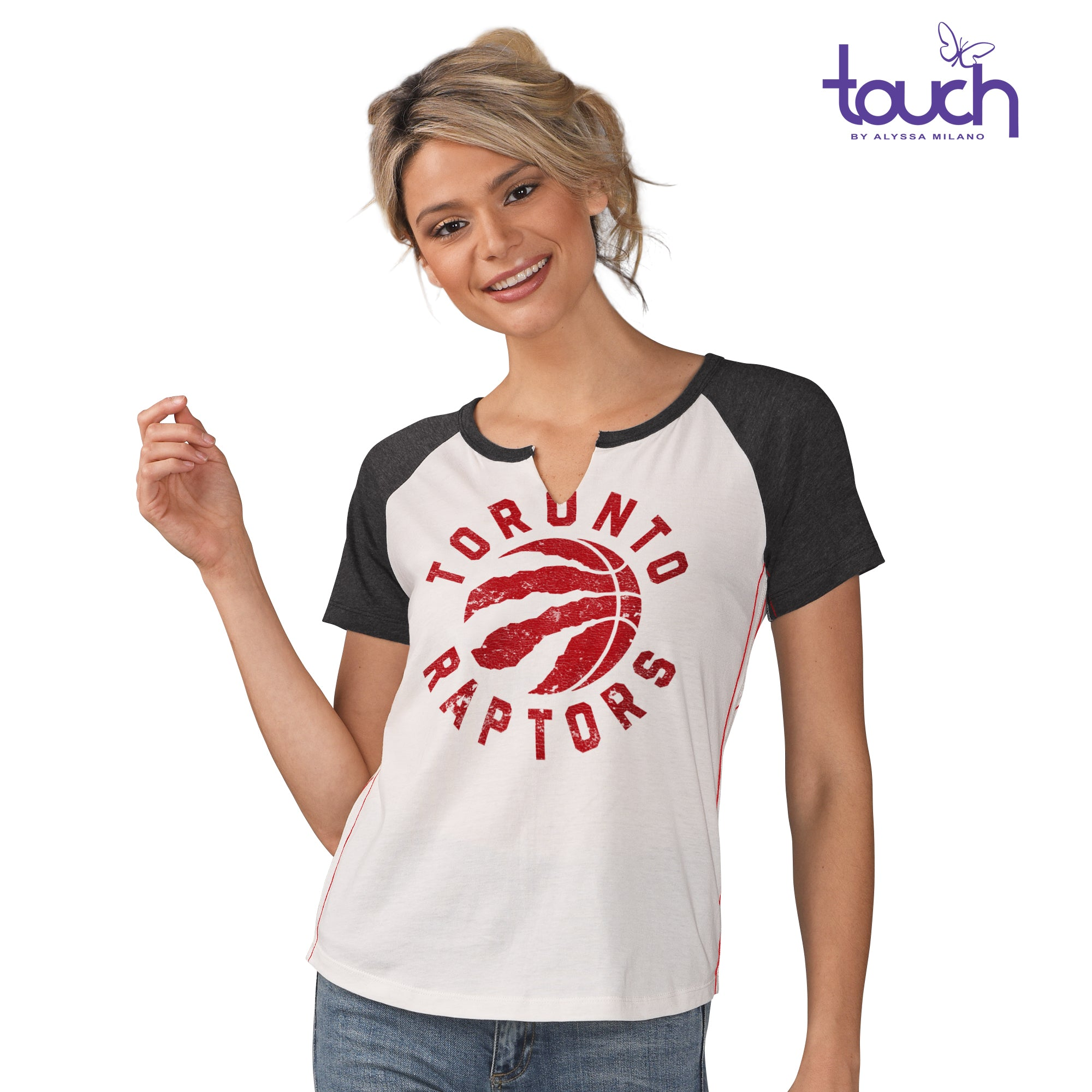 Raptors Touch Ladies Grounded Tee