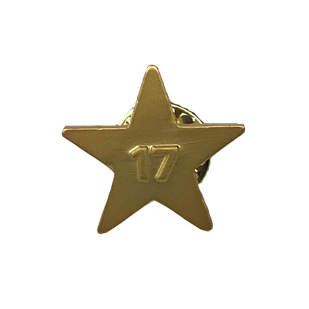 Toronto FC 2017 MLS Cup Champ Gold Star Pin