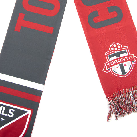 Toronto FC Fanatics Come On You Reds Scarf