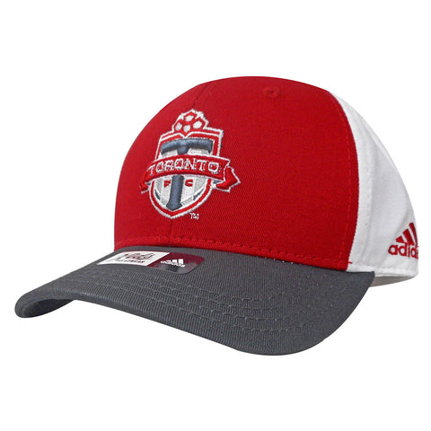 Toronto FC Adidas Toddler Colourblock Adjustable Hat
