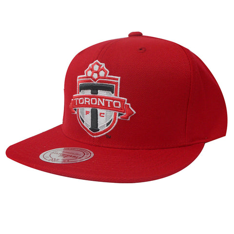 Toronto FC Mitchell & Ness Men's Team Solid Snapback - Red