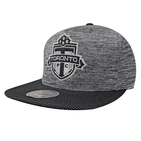 Toronto FC Mitchell & Ness Men's Space Knit Crown Visor Snapback