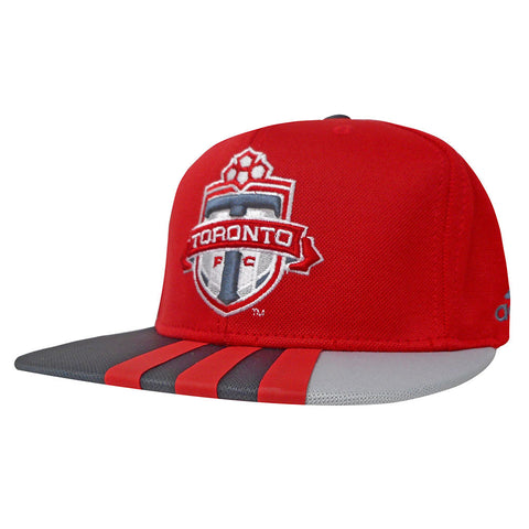 Toronto FC Adidas Youth Authentic Flatbrim Snapback