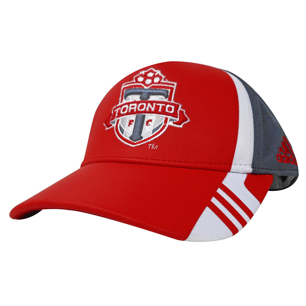 Toronto FC Adidas Youth Authentic Structured Adjustable Hat
