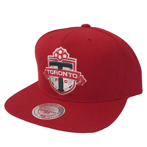 Toronto FC Men's Team Solid Snapback - Red