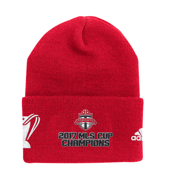 Toronto FC Adult 2017 MLS Cup Champs Toque- Red