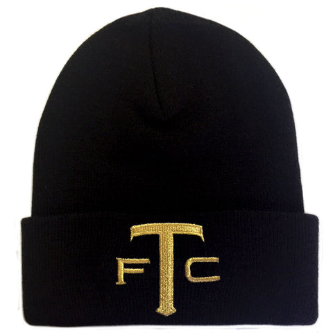 Toronto FC Adult Gold Star Cuffed Toque