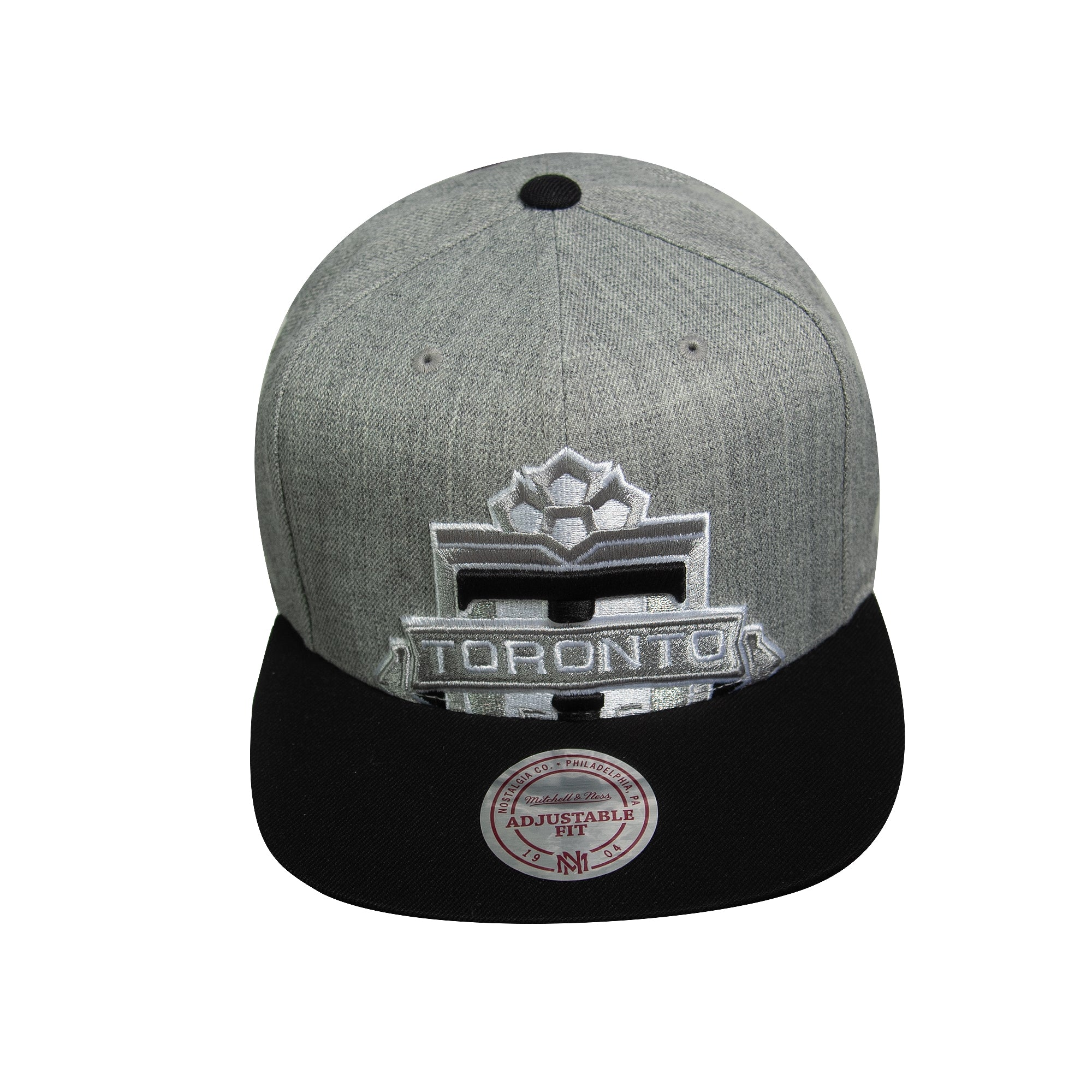 Toronto FC Mitchell & Ness Men's Cropped XL Logo Snapback