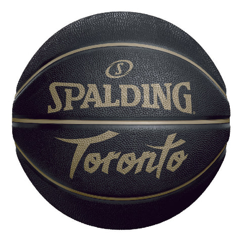 Raptors Spalding Size 7 HWC City Blackout Ball
