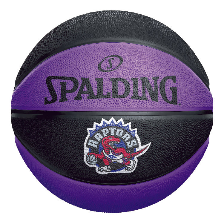 Raptors Spalding Size 7 HWC Panel Ball