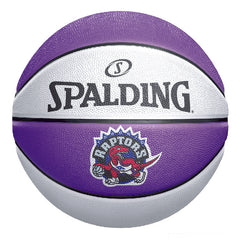 Raptors Spalding Size 3 HWC Panel Ball